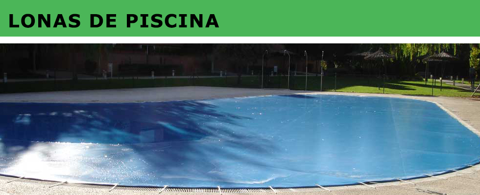 Lonas de piscina Madrid