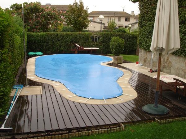 Lonas de piscina en madrid
